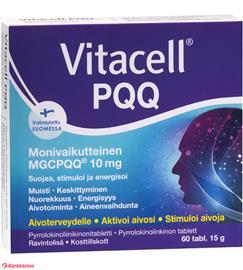 Vitacell PQQ 60 tabl ravintolisä