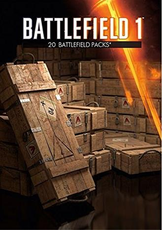 Battlefield 1 - Battlepacks x 20, PC-peli