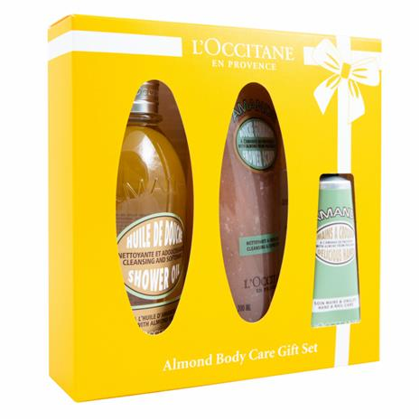L'Occitane Almond Body Care Gift Set