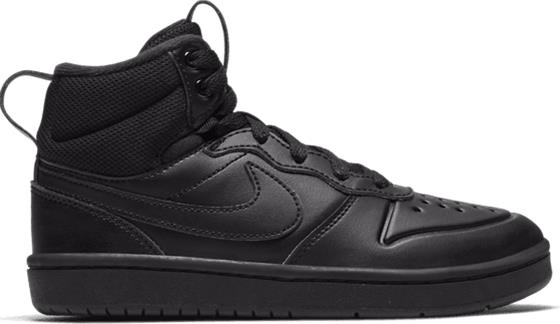 Nike J COURT BOROUGH MID 2 BOOT PS BLACK/BLACK