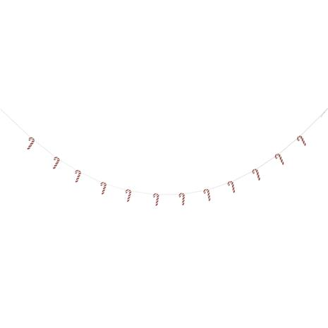 Bloomingville Garland Christmas Decoration, Red
