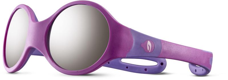 Julbo Loop M Spectron 4 Sunglasses Kids, rosa/purple/grey flash silver, Korut, rannekellot, lompakot ja aurinkolasit