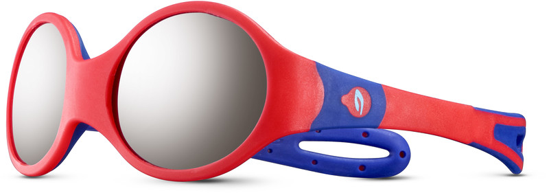 Julbo Loop M Spectron 4 Sunglasses Kids, orange/blue/grey flash silver, Korut, rannekellot, lompakot ja aurinkolasit