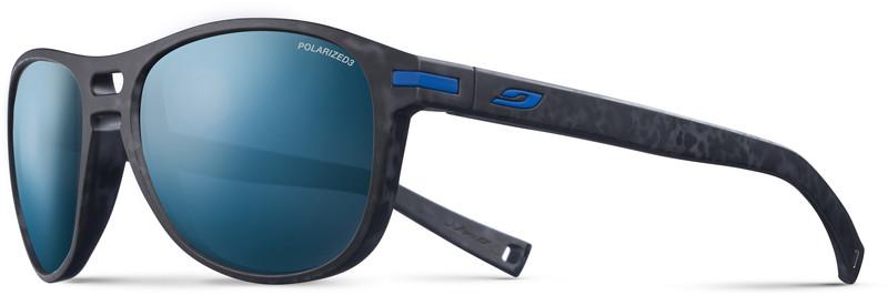 Julbo Galway Polarized 3 Sunglasses, matt tortoiseshell grey/blue, Korut, rannekellot, lompakot ja aurinkolasit