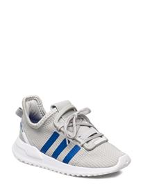 adidas Originals U_path Run I Tennarit Sneakerit Kengät Valkoinen Adidas Originals GRETWO/BLUE/FTWWHT