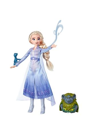 Disney Frozen 2 - Fashion Doll In Travel Outfit - Elsa (E6660)