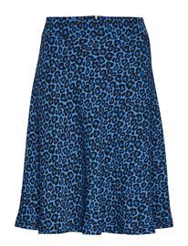 Mads Nä¸rgaard Leo Jungle Stelly C Skirts Short Bikini Tops Sininen Mads Nä¸rgaard BLUE LEO