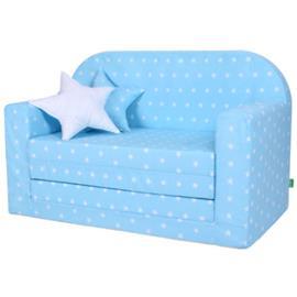 LULANDO Lasten sohva Classic vaaleansininen
