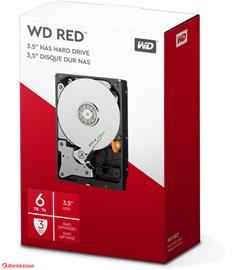 "WD Red NAS (6 TB, 3.5"", SATA) WD60EFAX, kovalevy"