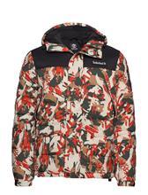 Timberland Outdoor Archive Camo Puffer Jacket Vuorillinen Takki Topattu Takki Timberland SPICY ORNGE TREK CAMO/BLK