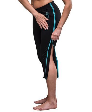 Northern Playground ZipLongs Wool 3/4 - Naiset - Pitkät alushousut - Musta - XS