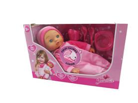 Jasmin-vauvanukke, Suomea puhuva nukke, 40cm