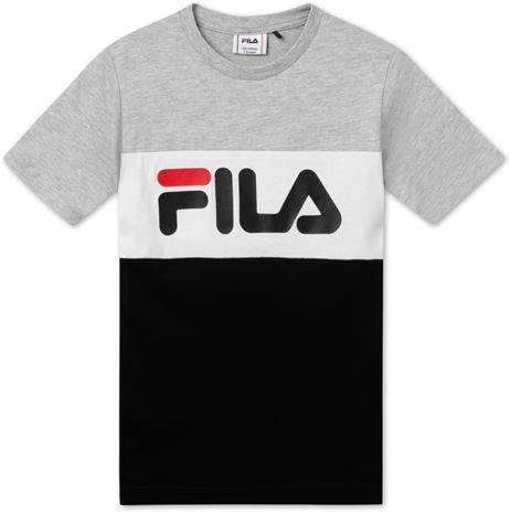 FILA Classic Day Blocked T-Paita, Light Grey Melange 110/116
