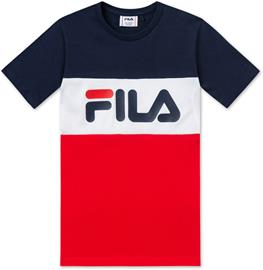 FILA Classic Day Blocked T-Paita, Black Iris 86/92