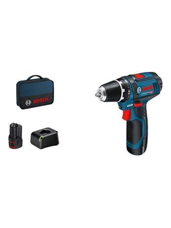 Bosch GSR 12V-15 Professional (060186810F) 12V 2x2,0Ah, akkuporakone/-ruuvinväännin