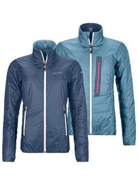 Ortovox Swisswool Piz Bial Jacket night blue Naiset