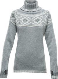 Devold Ona Round Sweater Women, grey melange