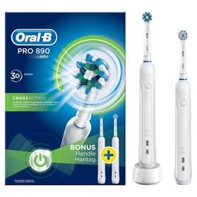 Braun Oral-B Pro 890 3D CrossAction Duo, sähköhammasharja (2 runko-osaa)