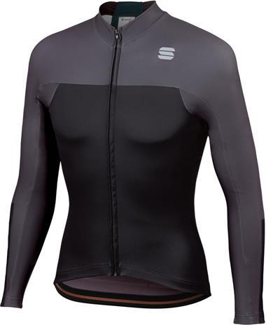 Sportful Bodyfit Pro LS Thermal Jersey Men, black/anthracite