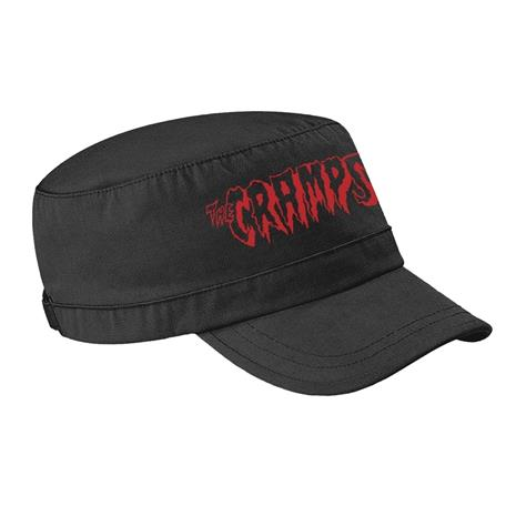 CRAMPS, THE - ARMY CAP, RED LOGO