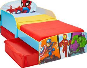 Marvel Superhero Adventures Juniorisänky + Säilytyslaatikot