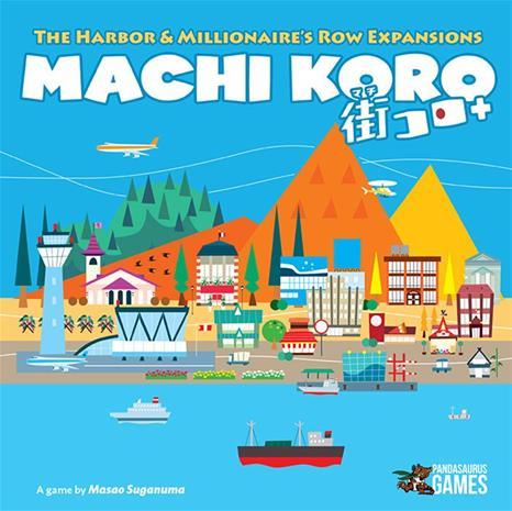 Machi Koro: The Harbour & Millionaire's Row, lautapeli