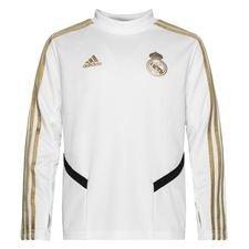 Real Madrid Harjoituspaita - Valkoinen/Kulta Lapset