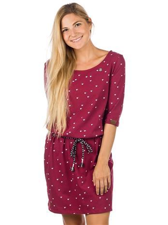 ragwear Tamy Dress wine red Naiset