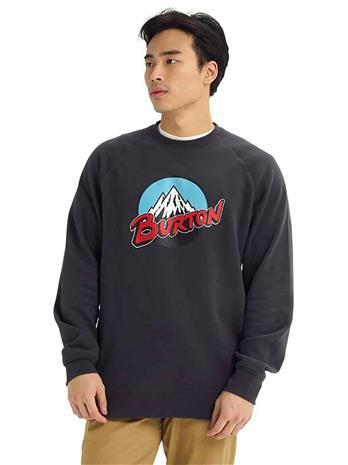 Burton Retro Mtn Crew Sweater phantom Miehet