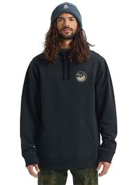 Burton Mill Pond Hoodie true black Miehet