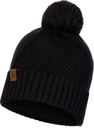 Buff Lifestyle Knitted and Polar Fleece Päähine, raisa black