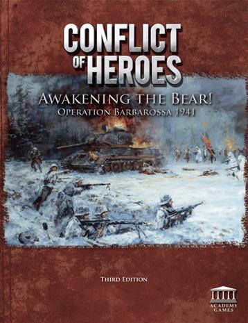 Conflict of Heroes: Awakening the Bear (3rd edition) Lautapeli