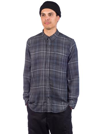 Hurley Vedder Washed Shirt anthracite Miehet