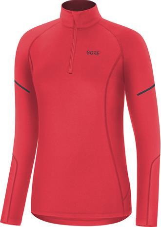 GORE WEAR M Mid Long Sleeve Zip Shirt Women, hibiscus pink