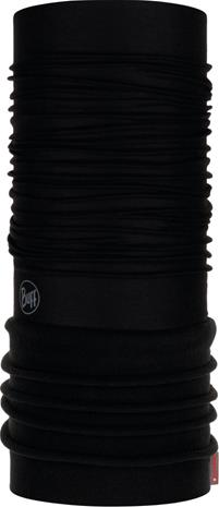 Buff Polar Neck Tube, solid black