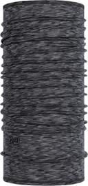 Buff Lightweight Merino Wool Monikäyttöhuivi, graphite multi stripes