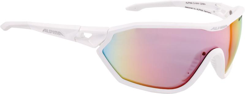 Alpina S-Way QVM+ Aurinkolasit, white matt