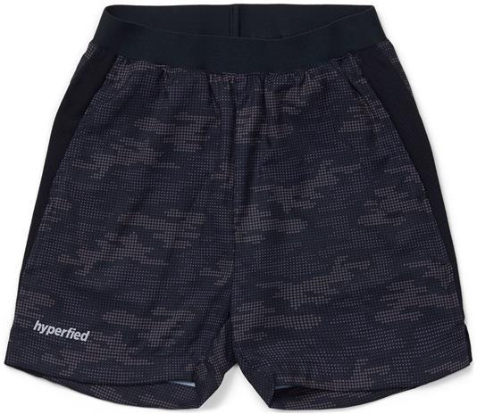Hyperfied Mesh Shorts, Grey Camo 134-140