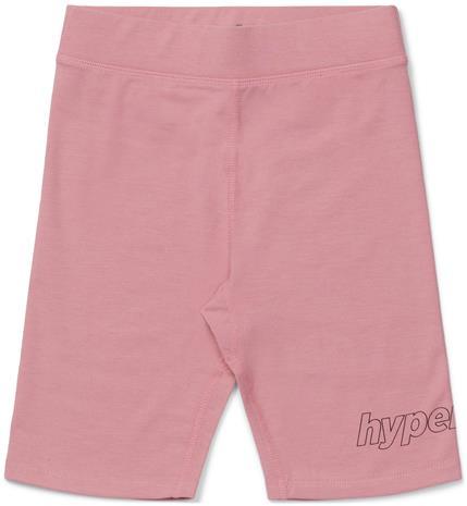 Hyperfied Jersey Logo Biker Shorts, Blush 110-116