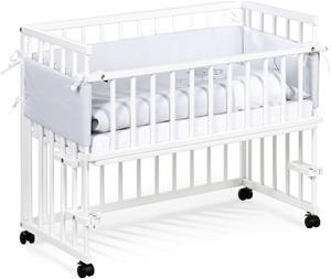 Klups Bedside Crib, Valkoinen