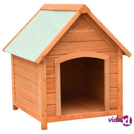 vidaXL Koirankoppi mänty ja kuusi 72x85x82 cm, Muut tarvikkeet koirille