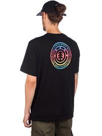 Element Seal Gradient T-Shirt flint black Miehet