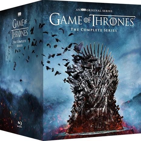 Game of Thrones: Kaudet 1-8 (Blu-Ray), TV-sarja