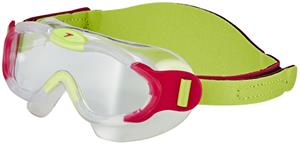 speedo Biofuse Sea Squad Mask Lapset, passion pink/hydro green