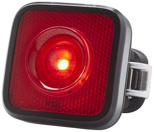 Knog Blinder MOB Takavalo punainen LED-valo, black