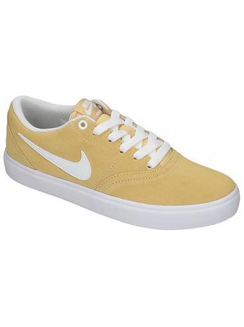 Nike SB Check Solar Sneakers celestial gold / white Naiset