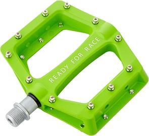 Cube RFR Flat Race Polkimet, green