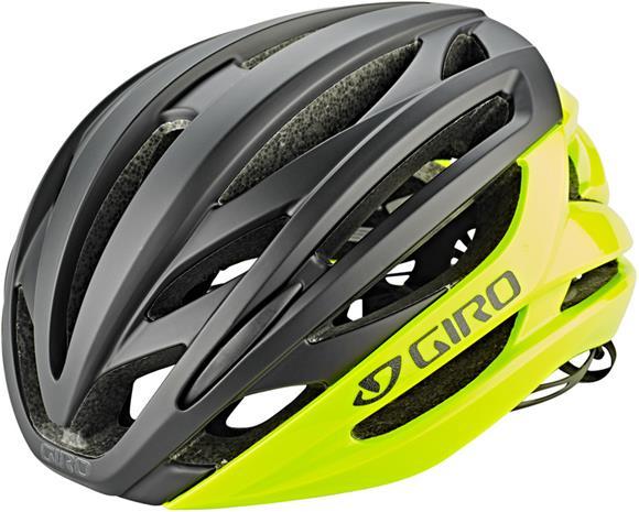 Giro Syntax Pyöräilykypärä, highlight yellow/black