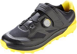 Mavic XA Pro kengät Miehet, black/black/yellow mavic