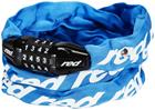 Red Cycling Products Secure Chain Chain Lock resettable, blue
